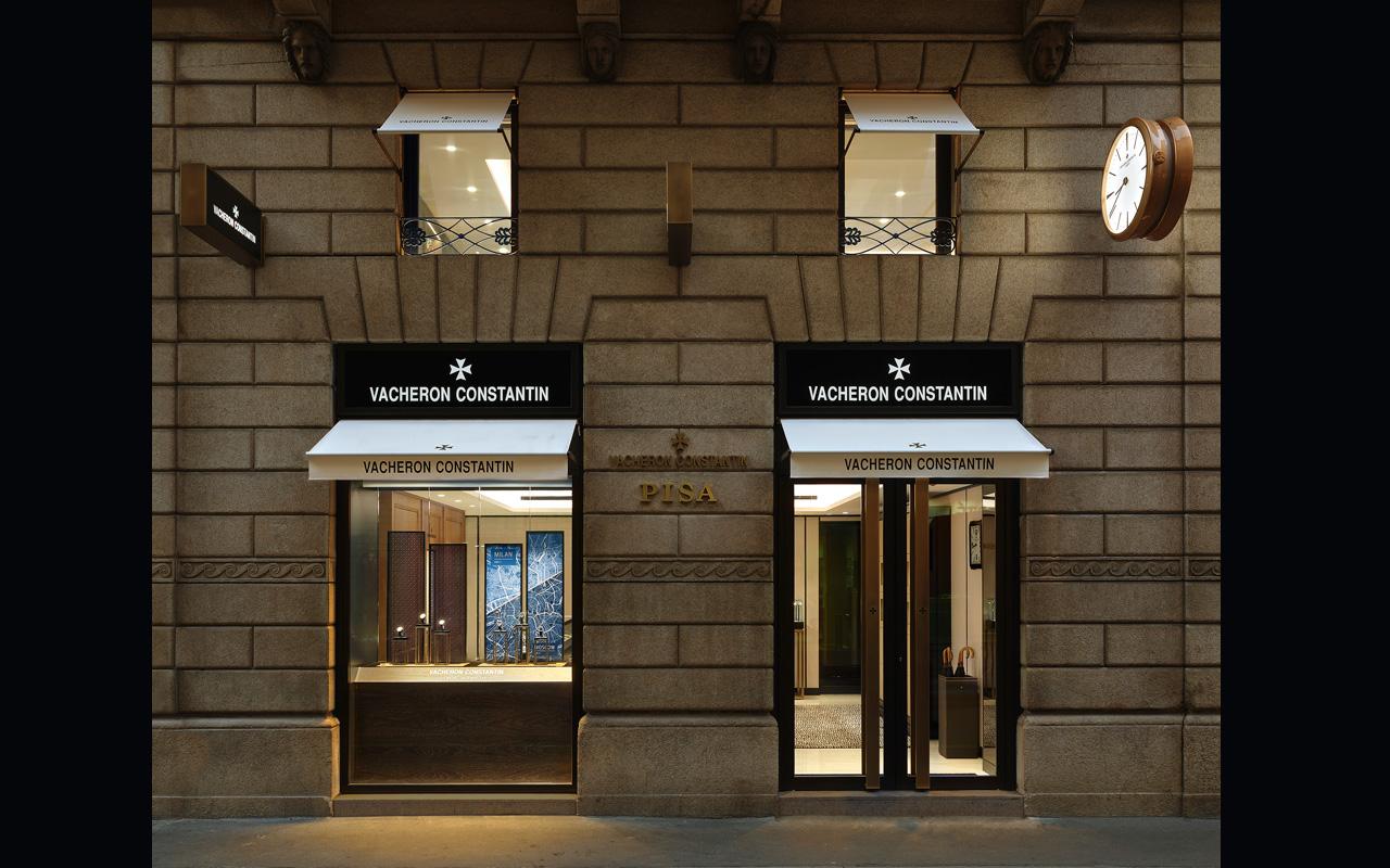 Vacheron Constantin abre boutique en Milán